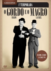 O GORDO E O MAGRO 1ª TEMP - 3 DVDs