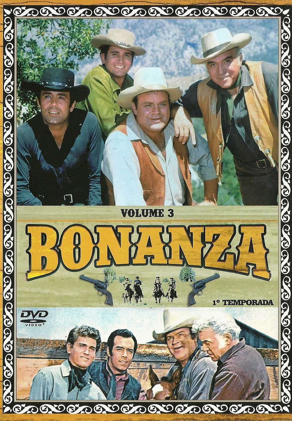 BONANZA 1ª temp - 5 DVDS