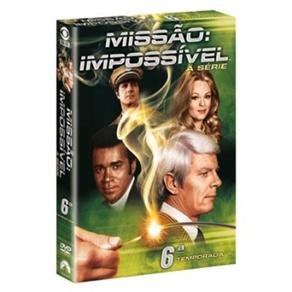MISSAO IMPOSSIVEL (A SERIE) - 6ª TEMP. - 6 Dvds6