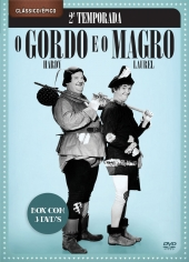 O GORDO E O MAGRO 2ª TEMP - 3 DVDs