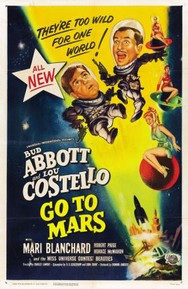 ABBOTT & COSTELLO - NO PLANETA MARTE
