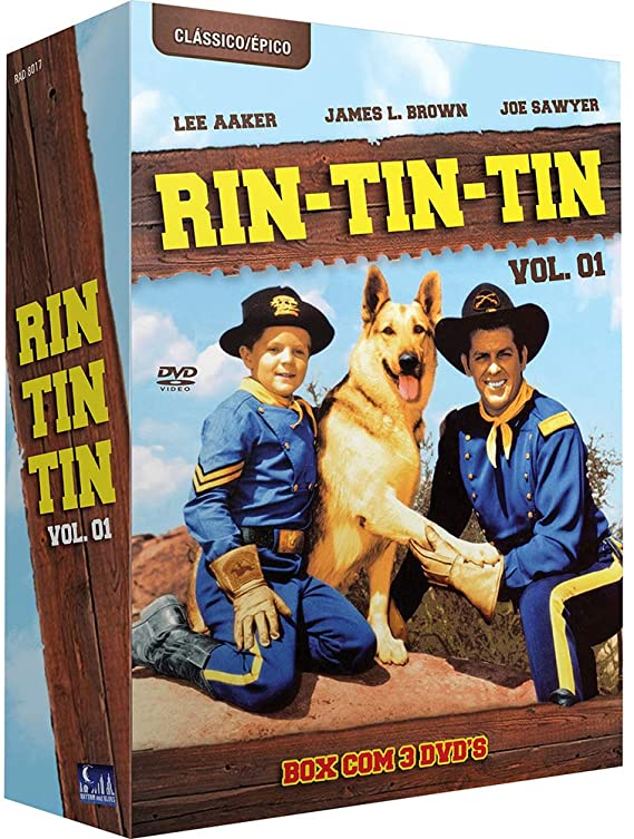 AS AVENTURAS DE RIN TIN TIN - 6 DVDs 1º Temp.